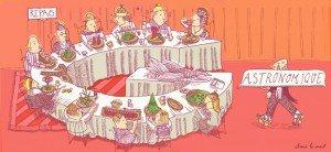 Le repas gastronomique des Français dans 1-Billet illustration_2-300x138