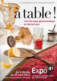Le repas gastronomique en Val de Loire dans 1-Billet Affiche-expo-Blois
