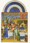 A La table des rois et des seigneurs au Moyen Âge dans 1-Billet les-tres-riches-heures-du-duc-de-berry-janvier-xve-siecle1-105x150