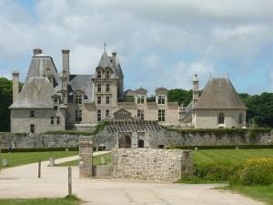 Château de Kerjean en Bretagne