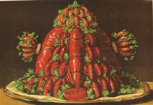 Jules Gouffé, Le Livre de cuisine, 1867, Buisson de coquillages