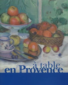 A table en Provence, nov. 2014 001