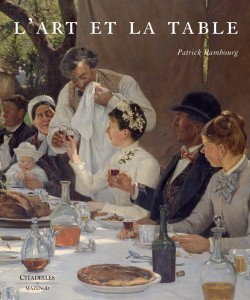 L'Art et la table (couverture), Patrick Rambourg