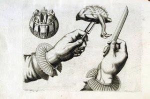 L'art de trancher à la volée, vers 1650