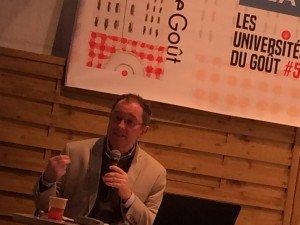 Patrick Rambourg, Université du goût, le 13-4-2019